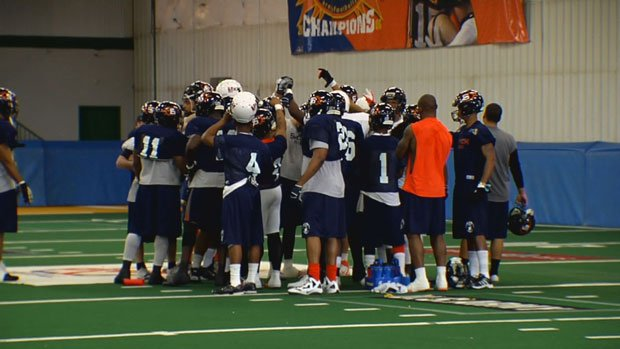 © The Shock play at Jacksonville on Saturday after going through their second - and last - bye week of the season (Photo: SWX)