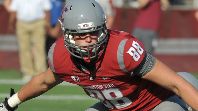Aaron Dunn played in ten games for the Cougars last season (Photo: WSU Athletics)