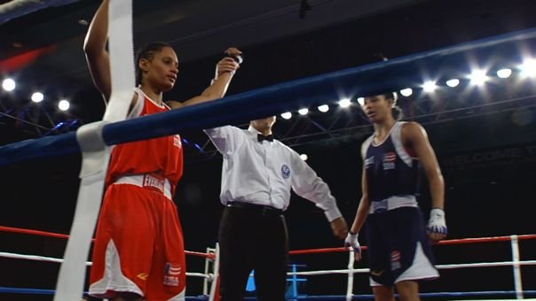 © Queen Underwood won the U.S. boxing trials in Spokane in February (Photo: SWX)