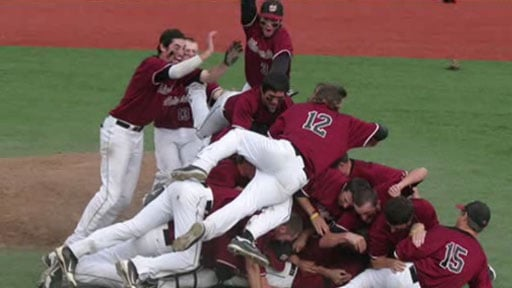The dogpile is an art form, and Whitworth is steadily but surely learning to do it right - without anyone getting seriously injured!