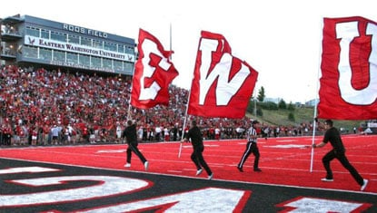 Eastern Washington will play at Sam Houston in 2013, and Sam Houston will pay a visit to Cheney in 2014 (Photo: EWU Athletics)