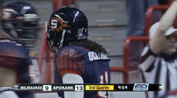 Jeremy Geathers played for the Shock before being picked up by the BC Lions, but the Lions recently cut Geathers from their roster (Photo: FILE / SWX)