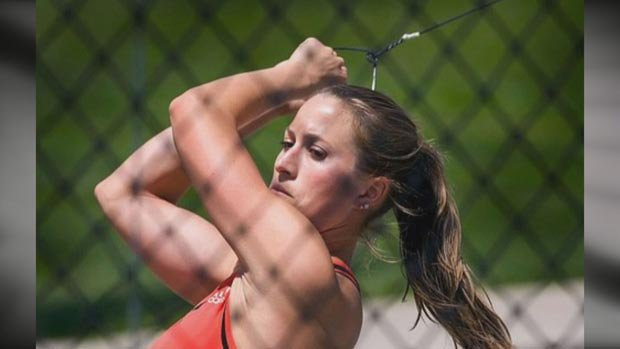 Britney Henry finished ninth at the U.S. Olympic Hammer Throw Trials in Oregon last week (Photo: SWX)
