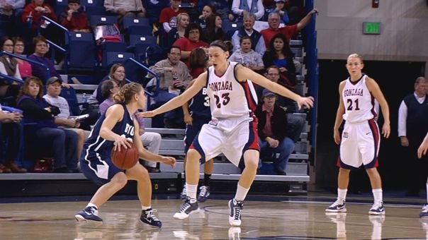 © After a successful career at Gonzaga, the New York Liberty drafted Katelan Redmon in the third round of this year's draft (Photo: FILE / SWX)