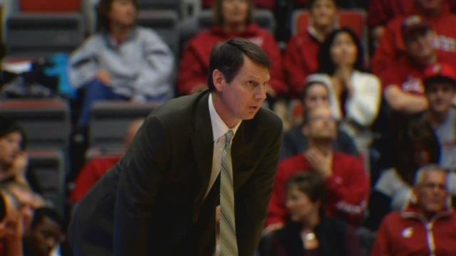WSU Coach Ken Bone said playing in Australia will expose players to elite international competition (Photo: SWX)