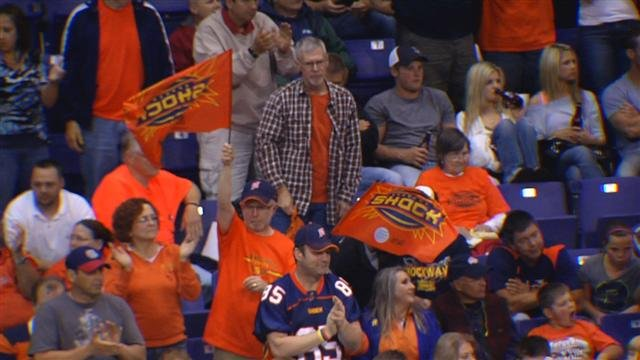 The Shock play their final game of the season this weekend against the Tampa Bay Storm (Photo: FILE / SWX)
