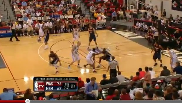 Jeremy Pargo scored 16 points in Tuesday's game against Washington (YouTube)