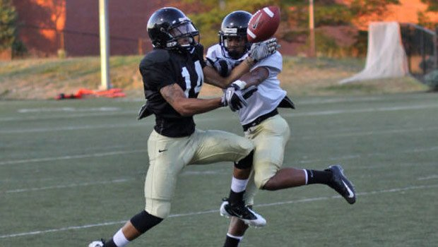 © Idaho put on full pads on Monday and will scrimmage Tuesday afternoon (Photo: Univ. of Idaho Athletics)