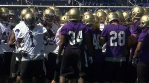 Washington began fall camp on Monday.