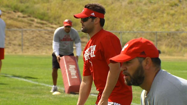  Former EWU QB Erik Meyer is helping out the coaching staff at Eastern Washington this fall. (Photo: SWX)