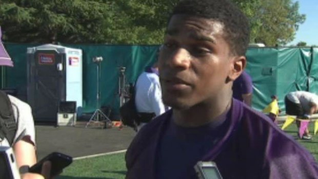 © Bishop Sankey, who played at Gonzaga Prep in high school, said he's leaning on what he learned from Chris Polk last year (Photo: KIRO)
