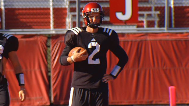 © Kyle Padron, after transferring from SMU, was named the starter at Eastern Washington (Photo: SWX)