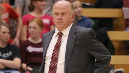  EWU volleyabll coach Miles Kydd resigned from the program Tuesday citing personal reasons (Photo: EWU Athletics)