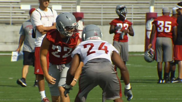 Washington State held their final practice on Tuesday before tonight's game in Provo. (Photo: SWX)
