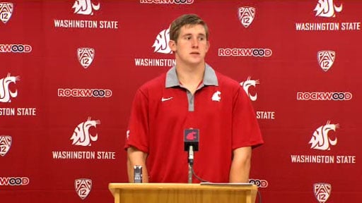 "© Jeff Tuel said the days of ""moping around"" after a loss are over at Washington State (Photo: SWX)"