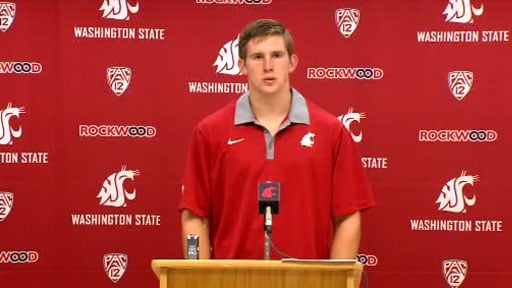 Jeff Tuel remains the starting quarterback this weekend against Eastern Washington (Photo: SWX)