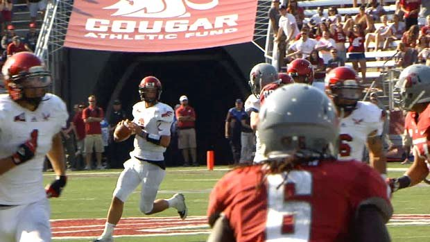  Eastern Washington fell just one spot in the FCS poll after losing 24-20 to Washington State on Saturday (Photo: SWX)
