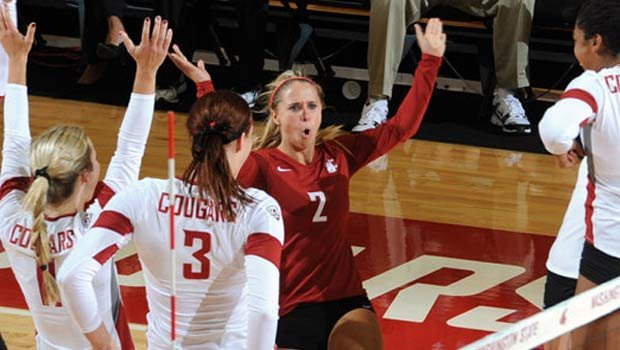 Washington State sept Norfolk State in three sets Friday afternoon (Photo: WSU Athletics/FILE)