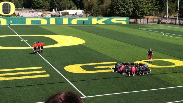 © Gonzaga held an early lead but eventually fell to Oregon 4-2 (Photo: Gonzaga Athletics)