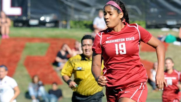 © Jocelyn Jeffers scored two goals in the Cougars' 5-1 win over Idaho on Sunday (Photo: FILE / WSU Athletics)