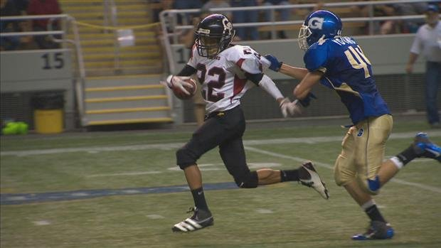 © Genesee beat Garfield-Palouse 32-8 in a game that got moved to the Kibbie Dome (Photo: SWX)