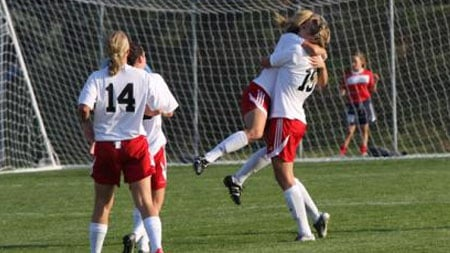 EWU came from behind to beat Idaho State 2-1 in Cheney on Sunday (Photo: EWU Athletics)