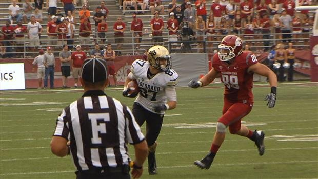 Colorado scored three times in the fourth quarter in a comeback win over the Cougars (Photo: SWX)