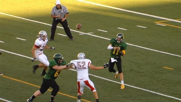 Shadle (green) will play Mt. Spokane in a 3A GSL matchup in the late game at Joe Albi Stadium on Friday (Photo: SWX)
