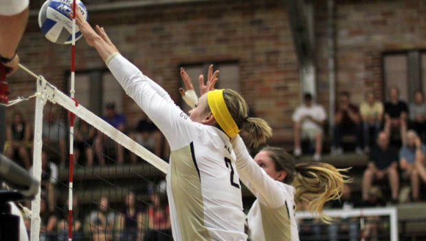 Allison Baker had a career-high 29 kills against UTSA (Photo: Univ. of Idaho Athletics)
