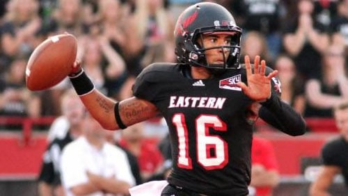 Vernon Adams threw for 353 yards and three touchdowns in his second career start at EWU (Photo: EWU Athletics)
