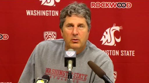 Coach Mike Leach said the Cougars have a 'don't lose, don't lose' mentality (Photo: SWX)