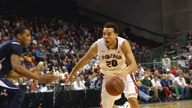  Elias Harris will be a senior for the Zags this year (Photo: SWX)