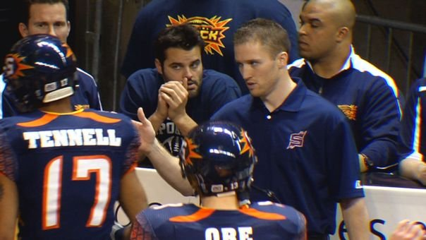 Andy Olson has a career 10-8 record as head coach of the Spokane Shock (Photo: SWX)