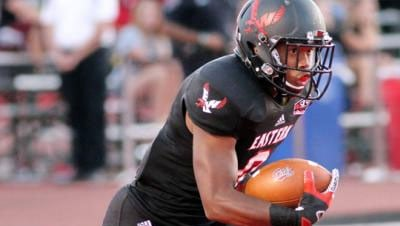 Shaquille Hill ranks third in the nation for kickoff return yards per kick (Photo: EWU AThletics)
