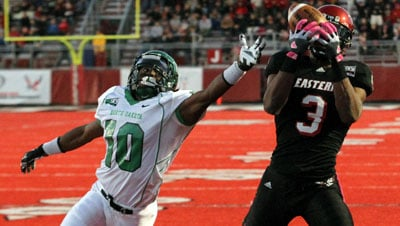 © Eastern Washington racked up nearly 500-yards of offense against North Dakota on Saturday (Photo: SWX)