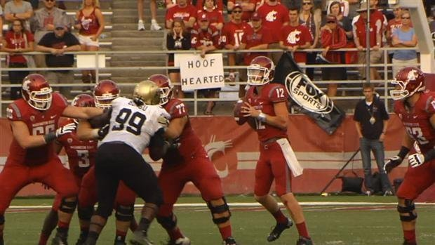 © Connor Halliday started earlier this season against Colorado and has been the No. 1 guy since then (Photo: SWX)