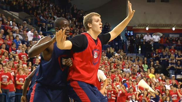 Gonzaga will begin the season ranked No. 21 in the AP poll. (Photo: SWX)