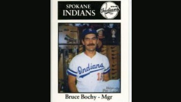 Bruce Bochy started as a manager for Spokane in 1989 before making it to the bigs in 1995. (Photo: Spokane Indians)