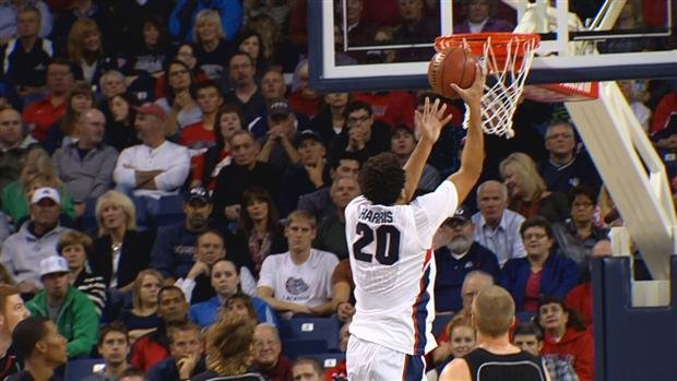  Elias Harris is the leading returning rebounder in the WCC (Photo: SWX)