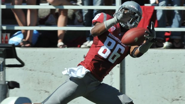Marquess Wilson has brought in 52 catches for 813 yards this season at Washington State (Photo: FILE / WSU Athletics)