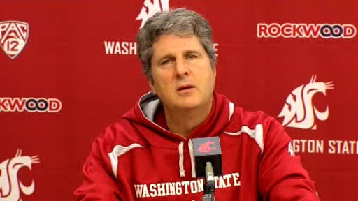 © Coach Mike Leach would say only that Marquess Wilson violated team rules, and that he was suspended (Photo: SWX)