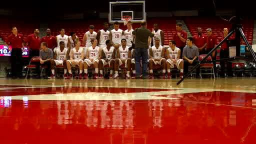  It was picture day at Washington State on Monday. The team plays Saint Martins in exhibition on Tuesday (Photo: SWX)
