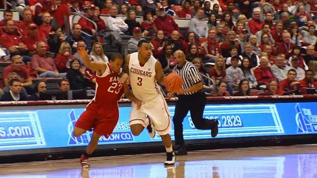  DaVonte Lacy scored 15 points in the Cougars' game last Saturday (Photo: SWX)