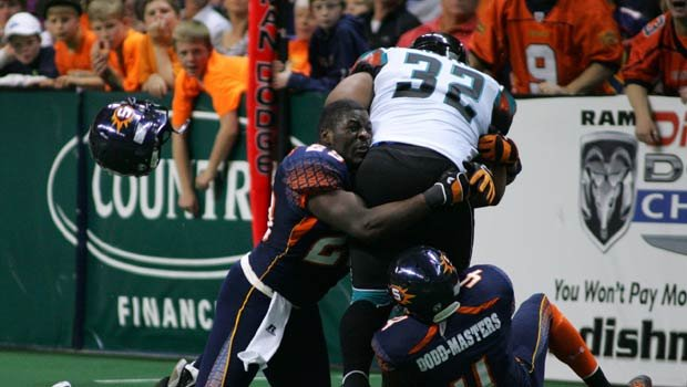 Beau Bell played for the Spokane Shock in 2011 and 2012