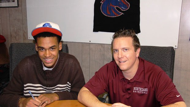 James Webb, currently a freshman at North Idaho College, signed a letter of intent to play for Leon Rice at Boise State next season (Photo: NIC Athletics)