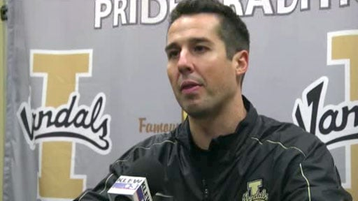 Interim coach Jason Gesser said there are still things that his team needs to clean up, but his Vandals refuse to quit (Photo: SWX)