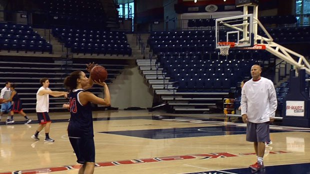 Gonzaga hosts Wisconsin Friday night at the McCarthey Athletic Center (Photo: SWX)