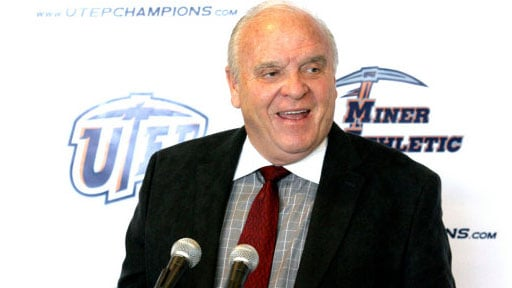 Former Washington State coach Mike Price, now at UTEP, has decided to retire after coaching for 31 years (Photo: UTEP Athletics)
