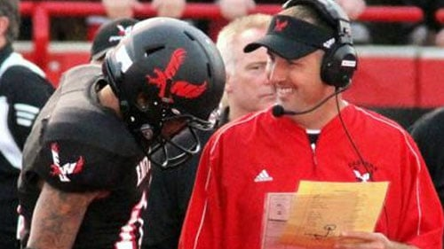 Coach Beau Baldwin and quarterback Vernon Adams are both up for national awards this season (Photo: EWU Athletics)