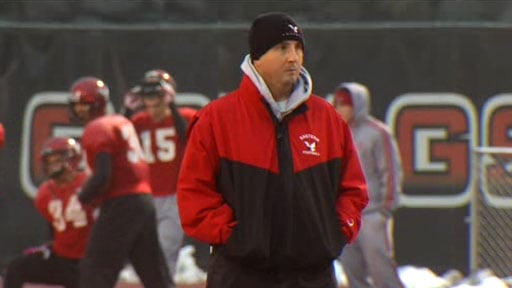 © Coach Beau Baldwin was named the Big Sky Co-Coach of the Year on Wednesday (Photo: SWX)